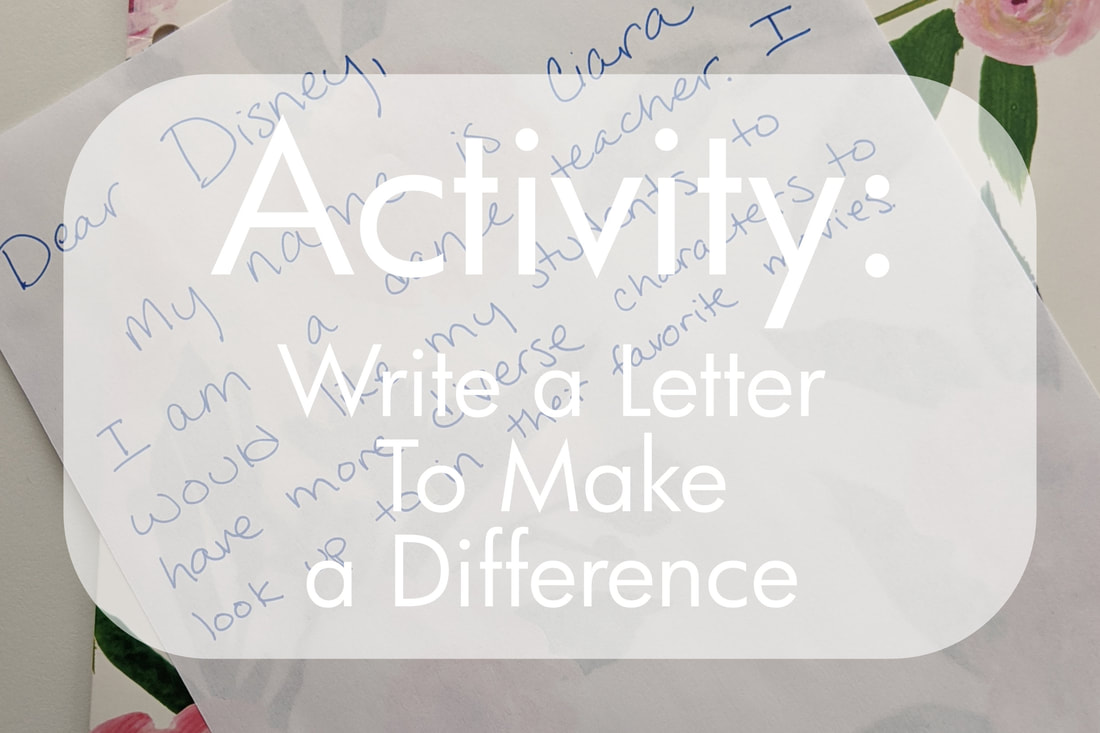 Activity: Write a Letter To Make a Difference